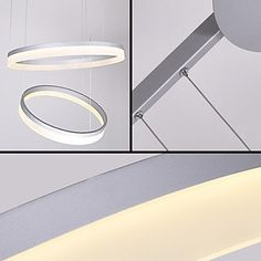 472 Modern Contracted Design Mini Pendant LED Ring Ceiling Lamp with 100-250V - USD $ 399.99