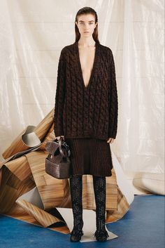 Proenza Schouler Pre-Fall 2015 - Collection - Gallery - Style.com SWEATER SKIRT SET