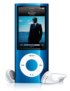 Ipod nano 4, important to have when at the gym!