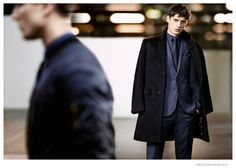 Adrien Sahores Poses in 70s Inspired Designs for Tiger of Sweden Fall/Winter 2014 Ad Campaign image Tiger of Sweden Fall Winter 2014 Campaign Adrien Sahores 004