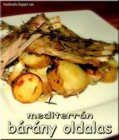 Tomakonyha: Mediterrán báránysült hagymás burgonyával Lidl, Pork, Chicken, Kale Stir Fry, Pork Chops, Cubs