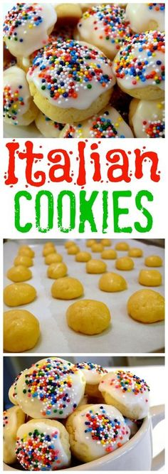 VIDEO + RECIPE for Italian Cookies from NoblePig.com.