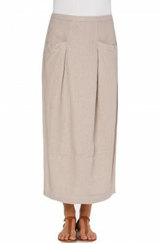 Sahara Linen Bubble Skirt