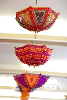 For Indian Wedding Decorations in the Bay Area, California; Contact R&R Event Rentals, Located in Union City & serving the Bay Area and Beyond. Cute Umbrellas, Umbrellas Parasols, Umbrella Art, Under My Umbrella, Mehndi Decor, Mehendi, Mehndi Stage, Umbrella Decorations, Mehndi Night