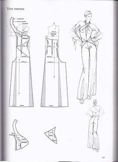 Wedding Dress Patterns, Dress Sewing Patterns, Sewing Patterns Free, Clothing Patterns, Skirt Patterns, Coat Patterns, Blouse Patterns, Pattern Drafting Tutorials, Pattern Draping