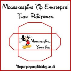image relating to Disney Printable Envelopes referred to as 25 Excellent Mousekeeping Envelopes visuals within 2016 Disney planet
