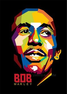 Bob Marley in WPAP (wedha's pop art portrait) by Uways Al Qurni For order, please contact me Email : wst097@gmail.com Pin : 7DF35E7D Wa : 083839566484