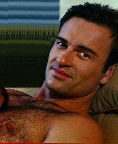 Ooh...the chest hair...  #JulianMcMahon --Dr. #ChristianTroy Forever ♥