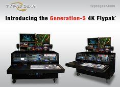 TV Pro Gear Generation-5 4K Flypack