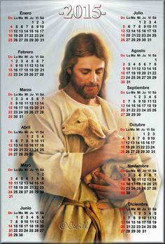 Imágenes de Cecill: Calendario de Jesús el Buen Pastor, 2015