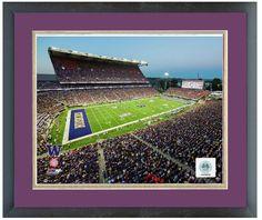 "Husky Stadium University of Washington Huskies 2013-11 ""x14"" Framed/Matted Photo"