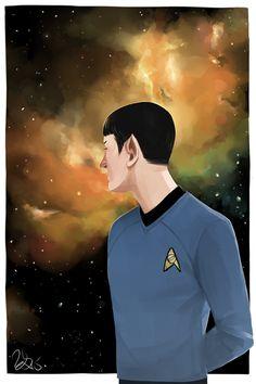 1931-2015. Thank you for everything  Spock tribute fanart by buckybuns