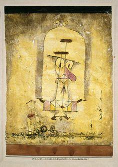 Paul Klee, Dance You Monster to My Soft Song! (Tanze Du Ungeheuer zu meinem sanften Lied!), 1922