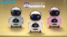 Voice Control Pocket Robot Intelligent Robot, Robots For Kids, The Voice, Pocket, Education, Toys, Mini, Youtube, Activity Toys