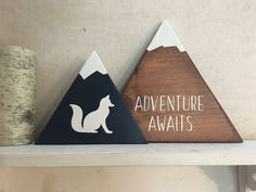 Your place to buy and sell all things handmade Fox Nursery, Forest Nursery, Nursery Signs, Woodland Nursery Decor, Nursery Themes, Nursery Room, Nursery Ideas, Baby Room, Stencils For Kids
