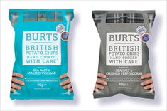 burts potato chips packaging design b1 20 Cool & Creative Food Packaging Design Assemblage For Inspiration