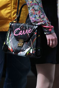 Want to see how she made that bag? Don't miss new episodes of The Carrie Diaries on the CW every Monday at 8/7c!