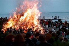 Saturday, of April better known as Valborgsmässoafton [Walpurgis Night] is an annual tradition, not only in Sweden but in loads of other places as well. Walpurgis Night, Beltane, Spring Festival, Night Photos, Magick, Childhood Memories, Dolores Park, Around The Worlds, Places