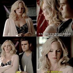 TVD - s06e13 - Stefan and Caroline