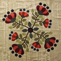 2015 BOM from Bec Bartell Quilts & Design: Free