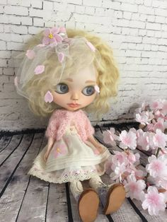 Blythe Outfit サクラ咲くワンピース 8点セット - ヤフオク!