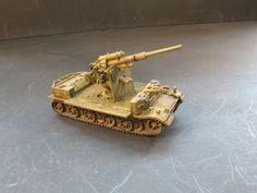 1/144 WW II German , S.P. Sonderfahrgestell , W/ Flak 36 , 8.8cm Gun..   eBay