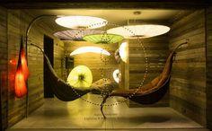 Unique Interior With Israel Lighting for Public Room