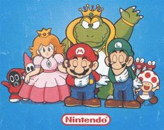 2 (Nintendo NES) artwork from the game including enemies, bosses, supporting art and of course Mario, Luigi, Toad and the Princess! Super Mario Bros, Super Mario World, Super Mario Brothers, Super Nintendo, Super Smash Bros, Vintage Video Games, Retro Video Games, Classic Video Games, Hama Beads Minecraft