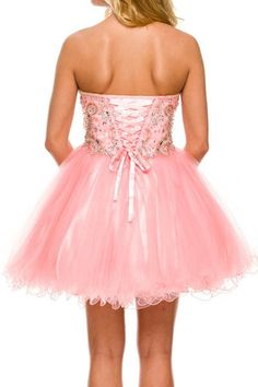 Above Knee Length A-Line Homecoming and Cocktail Dress with Sweetheart and  Strapless Neckline has f8967d2ee
