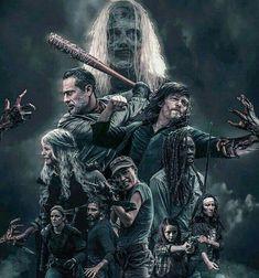 Walking Dead Show, Walking Dead Season 9, Daryl Dixon Walking Dead, Walking Dead Series, Fear The Walking Dead, The Walking Dead Wallpapers, Dead Zombie, Stuff And Thangs, Zombie Apocalypse