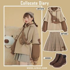 cute outfits for teenage girl 2020 cute outfit ideas for girls Korean Girl Fashion, Ulzzang Fashion, Korean Street Fashion, Kpop Fashion Outfits, Japanese Fashion, Asian Fashion, Cute Casual Outfits, Pretty Outfits, Korean Outfits Cute