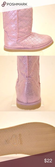 Nordstrom Rack Girls Pink Quilted BOOTS Size 3M Nordstrom Rack Girls Pink Quilted BOOTS Size 3M   Textile upper.  Faux fur lining.  100% polyester.  Balance man made materials.  Stock #K1537 Nordstrom Shoes Boots