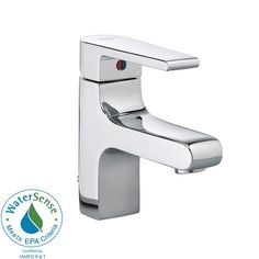 American Standard Studio Monoblock Single Hole 1-Handle Mid Arc Bathroom Faucet in Polished Chrome-2590.101.002 - The Home Depot