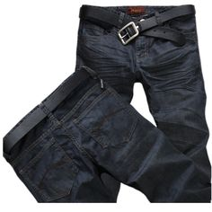 >> Click to Buy << men's jeans brand New 2016 Fashion men jeans pants Spring Winter men's jeans trousers Slim Straight jeans denim trousers #Affiliate
