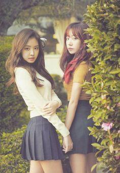 Korean Fashion On The Streets Of Paris Namjoo Apink, Apink Naeun, Kpop Girl Groups, Korean Girl Groups, Kpop Girls, Girls Together, Fitness Motivation Pictures, Korean Outfits, Korean Clothes