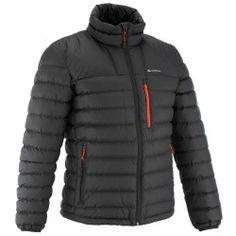 03cc969c3b Férfi bélelt kabát X-Warm - | Decathlon Motoros Dzseki, Fekete Férfiak,  Fekete
