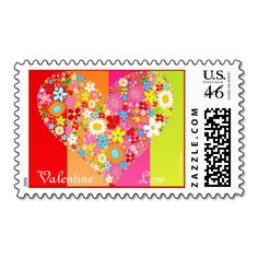 VALENTINES DAY SPECIALTY USPS POSTAGE STAMPS