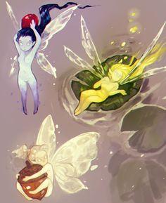 Anime Fan Art - Shounen And Trend Manga Fantasy Character Design, Character Design Inspiration, Character Art, Pretty Art, Cute Art, Poses References, Mythical Creatures Art, Image Manga, Fairy Art