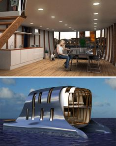 Erikstad Architecture design for mobile water homes