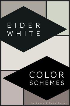 Teal Color Schemes, Teal Colors, Eider White, Coordinating Colors, Design Color, Inspire Me, House Ideas, Paint, Picture Wall