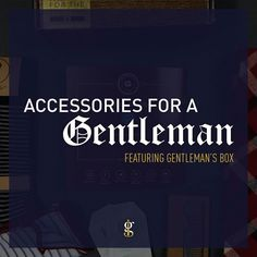 Accessories aren't for every guy out there but for the discerning manthey can add a level of refinement or as the fashionistas would say sprezzatura.   If you want to separate yourself from the crowd incorporating a few unique pieces into your daily outfits is not a bad idea. (Link's in Bio)