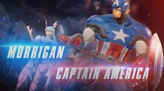 Marvel vs. Capcom Infinite - Captain America and Morrigan Reveal Trailer