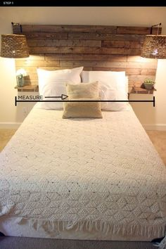 9 Elegant Clever Tips: Rustic Diy Living Room rustic headboard colour. Home Bedroom, Bedroom Furniture, Diy Furniture, Bedroom Decor, Western Furniture, Bedroom Retreat, Bedroom Sets, Trendy Bedroom, Pallet Wall Bedroom