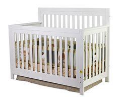 Europa Baby Palisades Lifestyle Crib White Europa Baby