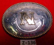 SOLID STERLING SILVER Front ~N~ Hand Evgd BK Silversmiths Belt Buckle MAKE OFFER $295.00 or Best Offer Free shippingItem image
