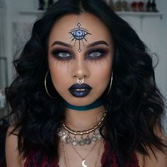 Was really inspired by @beauty.x.jenna fortune teller look, been seeing her photo all over Pinterest and had to do look of my own •@toofaced Born this Way foundation (warm beige) •@amazingcosmetics concealer (medium golden) •@morphebrushes 35N palette •@anastasiabeverlyhills dipbrow (darkbrown) •@kmynx lashes •@colourpopcosmetics super shock shadow (dance party) @thebalm_cosmetics schwing black eyeliner / batter up eyeshadow stick (night game) @benefitcosmetics hoola bronzer…