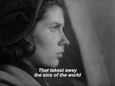 Winter light Ingmar Bergman, Winter Light, Film Quotes, Film Stills, Memoirs, I Movie, Cinema, My Love, Movie Posters
