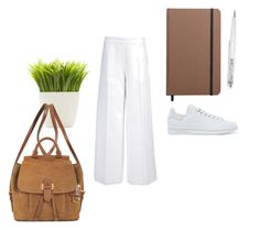 """dezqa brown"" by indreswarik on Polyvore featuring Shinola, Dot & Bo, adidas Originals, Joseph and MICHAEL Michael Kors"