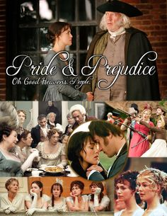 Pride and Prejudice - The Movie One of the most subtle romantic movies of all times.