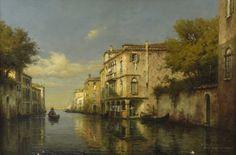 Eloi Noël BOUVARD (1875-1957) | Canal à Venise I Daguerre